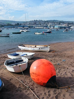 Large Buoy. Teignmouth, Devon