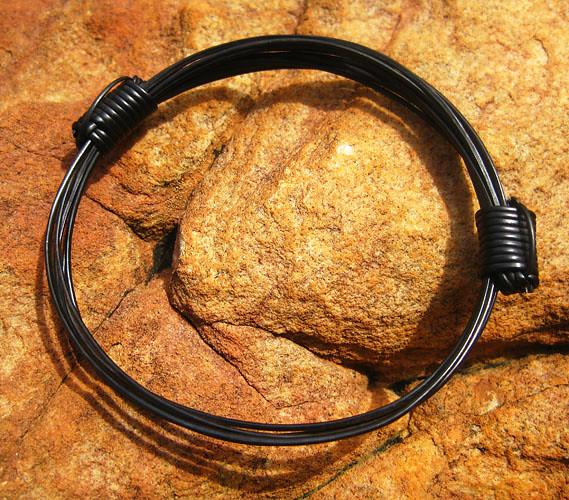 Elephant Hair Bracelet With Gold For Men Elephant Hair Bracelet