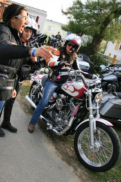 Harley Davidson Eurofestival In St Tropez