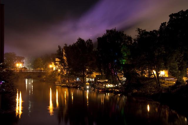 Nordlicht über Marburg