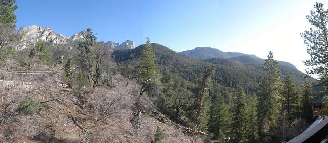 View at Mount Charleston