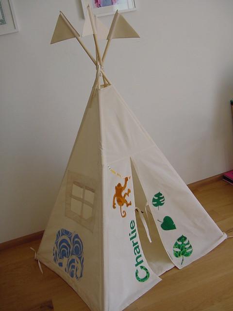 Kids Play Tent And Slumber Bag Set