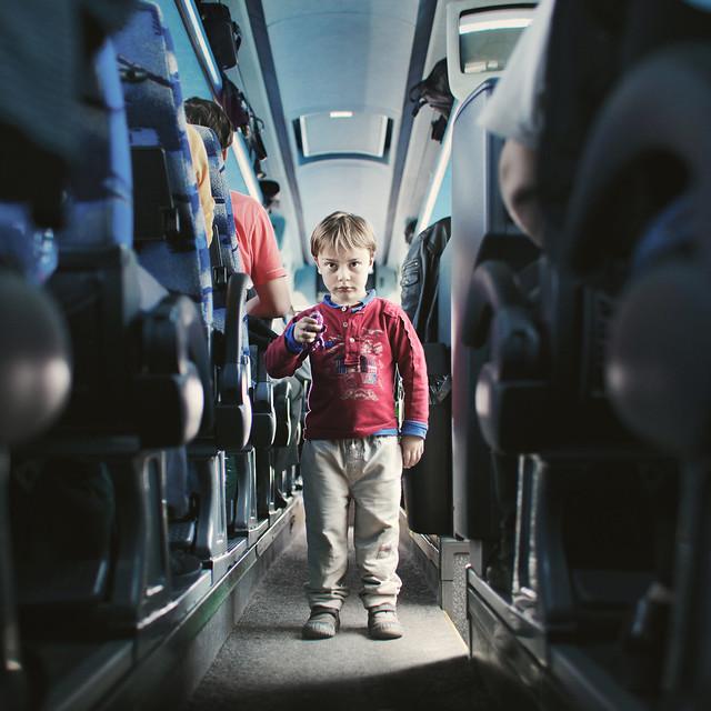 A stranger: Bus, Paris to Ukraine