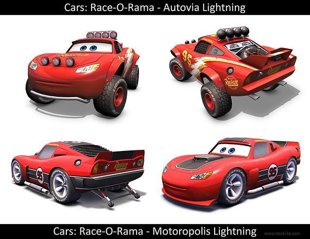 Cars Off Road Racing Lightning Mcqueen