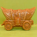 Vintage Ceramic Covered Wagon TV Lamp-Night Light