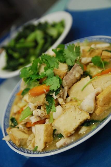Red Cooked Hapuka and Tofu   Flickr - Photo Sharing!