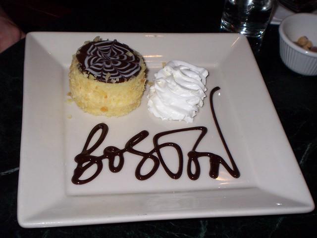 boston cream pie at the omni-parker hotel