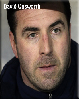 David Unsworth - U21 Manager