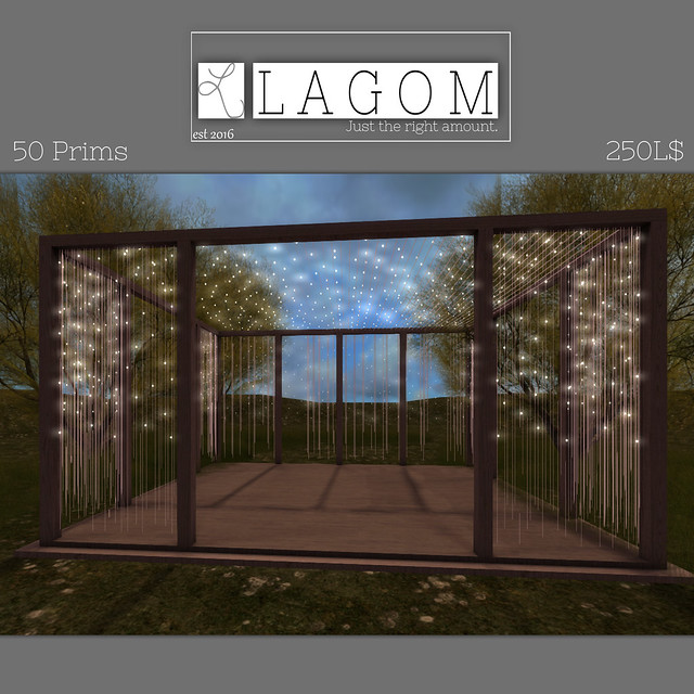 LAGOM - Starlight Gazebo add