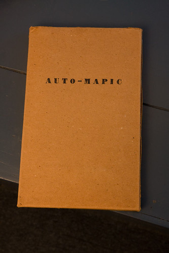The box the Auto-Mapic came in