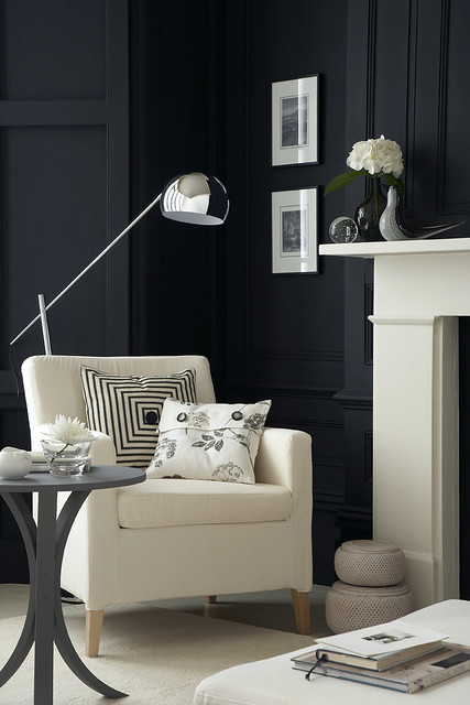 Living room design we 39 re very happy for you to use our - Black wall living room ...