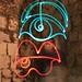 occhio, bocca e me 2009 light painting