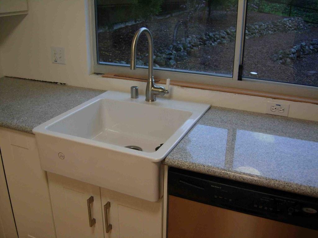 Dishwasher Countertop Gap : Remodel Week 15 Domsjo Sink Installed