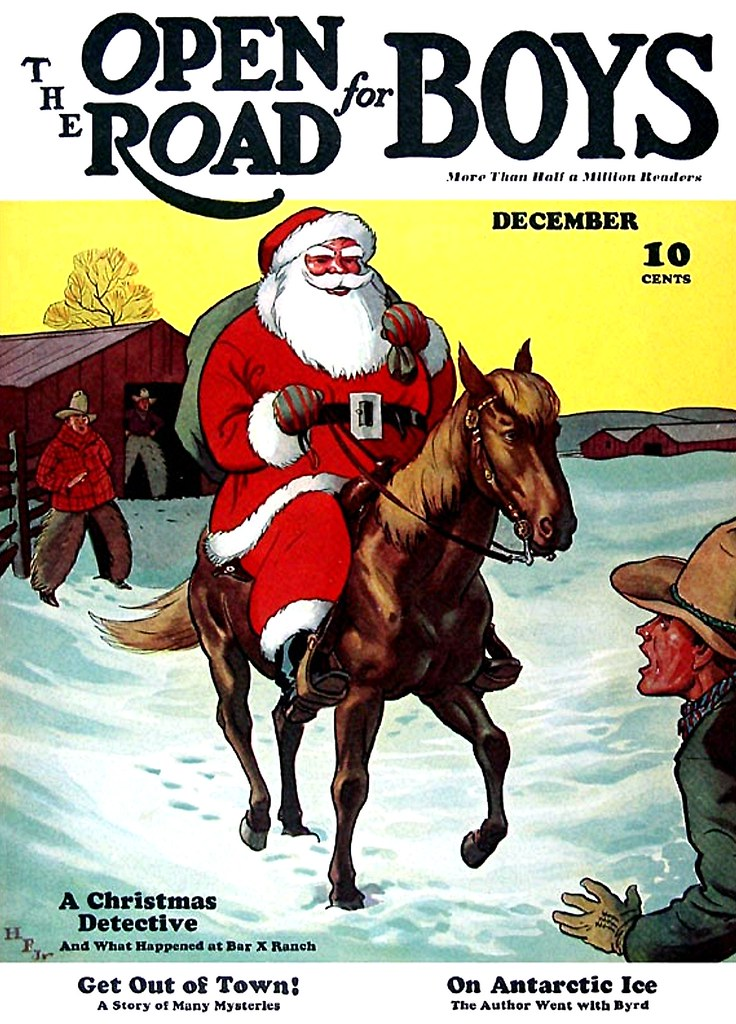 The Open Road for Boys - December 1936
