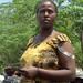 Vendedora de carbón. En la carretera de Addis Abeba a Dessie