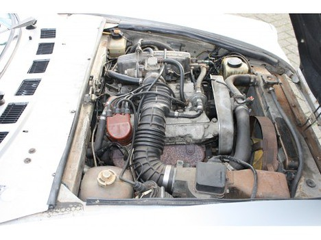 Fiat 124 spider 2000 1980 engine flickr photo sharing for Fiat 124 spider motor