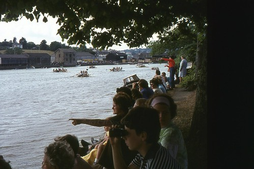 1976 - Truro Raft Race, Truro River, Cornwall by Stocker Images