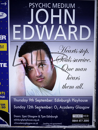 4260012970 0724696405 Is psychic medium John Edward right or left handed?