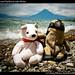 Pedrito and Pablito at Lake Atitlan