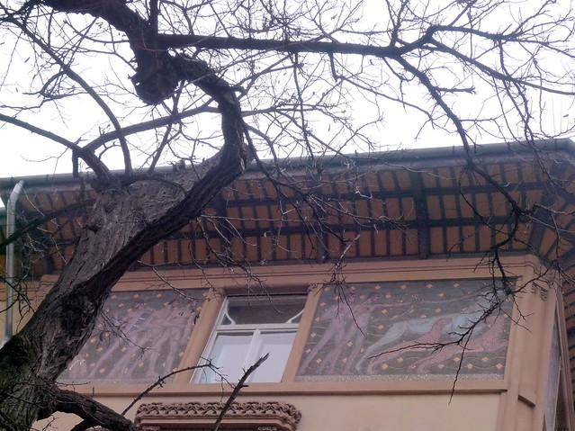 Art nouveau palace budapest murals a photo on flickriver for Art nouveau mural