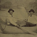 Tintype Two Men in a Boat