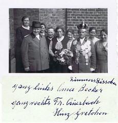 1933, Schützenkönig Johann Kühle, Königin Elisabeth Anna Becker, Zimmers Lieschen, SW144