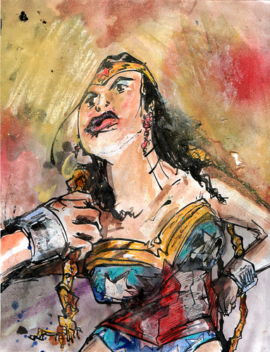 Wonderwoman by tetragramm
