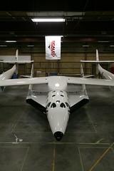 VSS Enterprise mounted in the hangar_Mark Greenberg