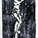 pine crucifix print