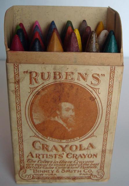 Rubens Crayola 24 Count 1903 Open