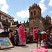 Handicrafts on Cusco's Main Square - Peru