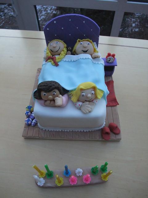 Sleepover Birthday Cake Ideas