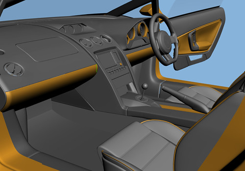 Lamborghini Gallardo Front Seats Interior Photo Lamborghin Flickr