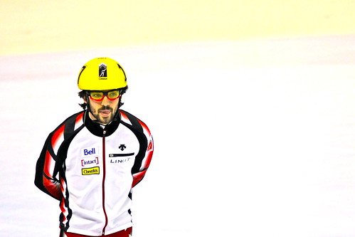 """ The Olympic Gold Medal Winner 500 Meters Vancouver 2010 ....Charles Hamelin Canada ... Courte Piste ... Short Track """