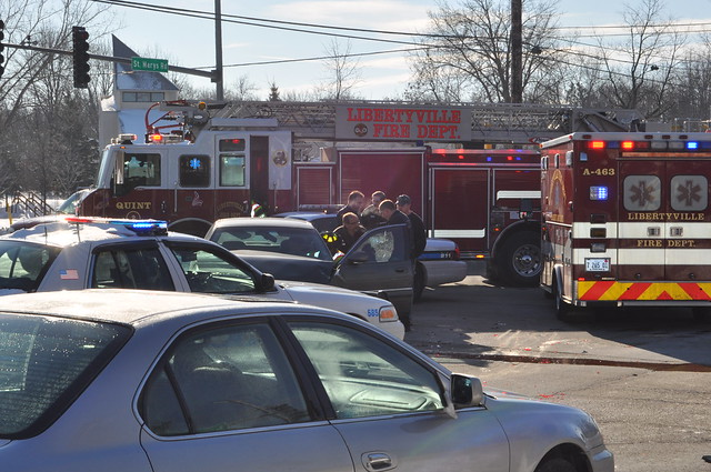 Libertyville Car Accident Today