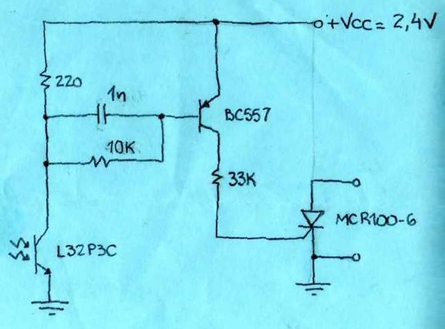 slave flash trigger circuit (schematic)