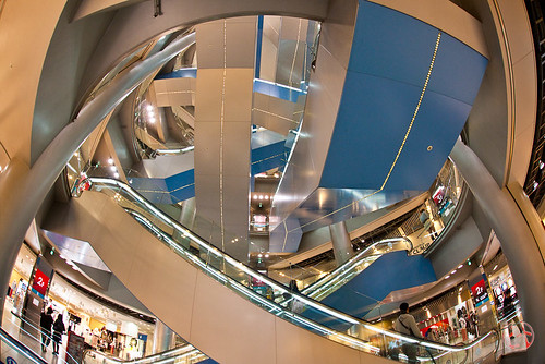 Escalators gone wild!