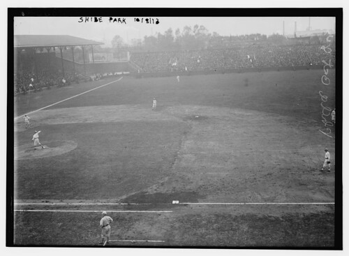 [2nd Game at Shibe Park, Philadelphia - 1913 World Series (baseball)] (LOC)