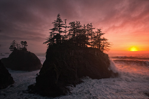 sunset beach oregon coast d3 seastack southernoregon lancerudge