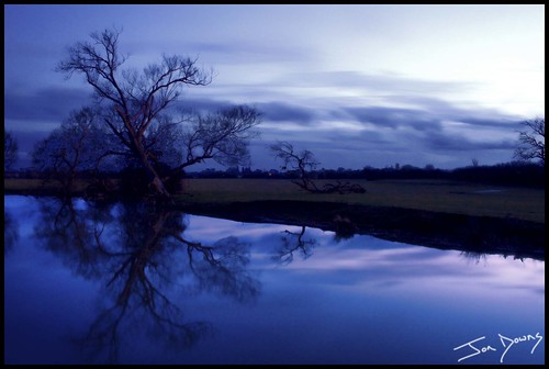 blue sunset color colour art digital canon downs landscape eos photo jon flickr artist purple image picture pic photograph 7d stony milton keynes stratford flickrestrellas vanagram jondowns