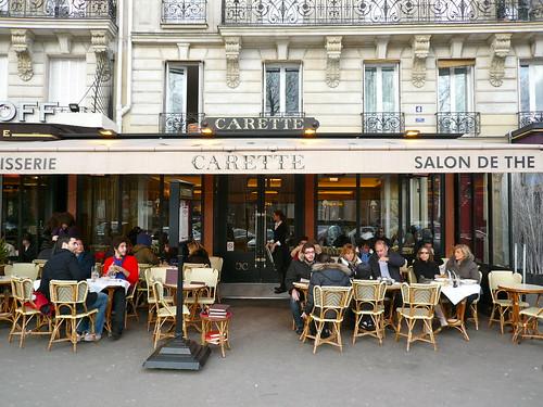 Carette un salon de th et v ritable institution place for Salon des ce paris
