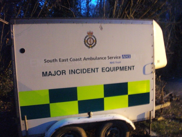 East Coast Toyota Service >> South East Coast Major Incident Trailer based at Crawley Ambulance station. The plate on the ...