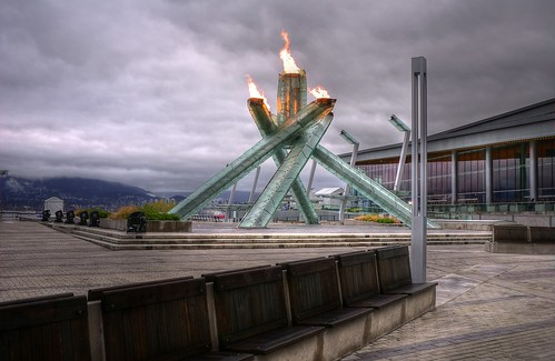 The Vancouver 2010 Olympic Cauldron