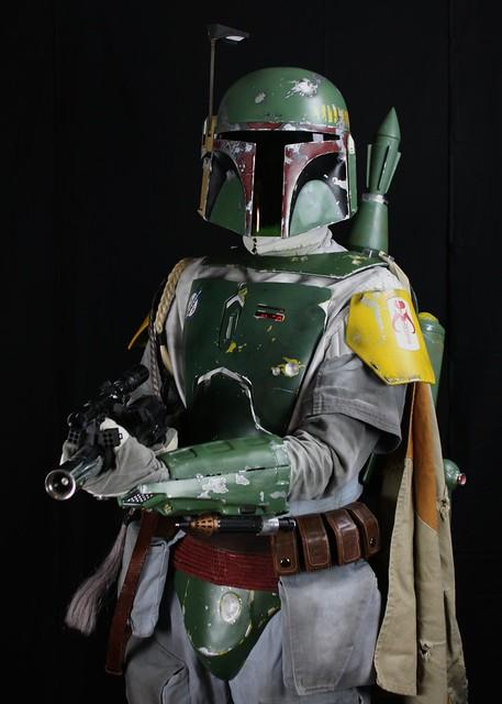 Mandalorian Bounty Hunter Boba Fett Star Wars The Empire ...