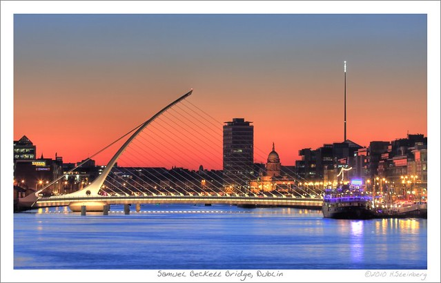 Samuel Beckett Bridge, Dublin  [Explore]