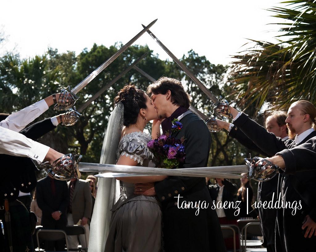 Sword Arch Kiss