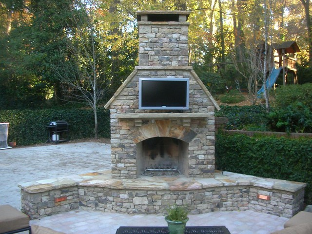 4425205760 df47242848 - Outdoor fireplace with tv ...