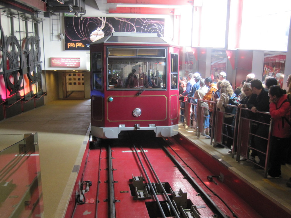 Peak Tram - Hong Kong