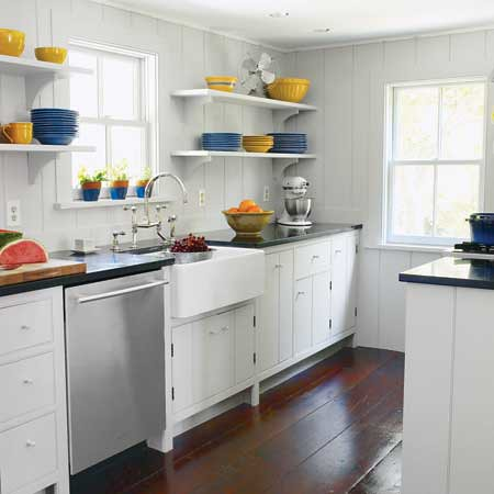 Kitchen remodeling a before and after for a small galley for Small galley kitchen designs