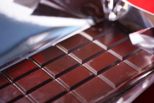 The Chocolate Cafe 70% Dark Chocolate With A Good Shine
